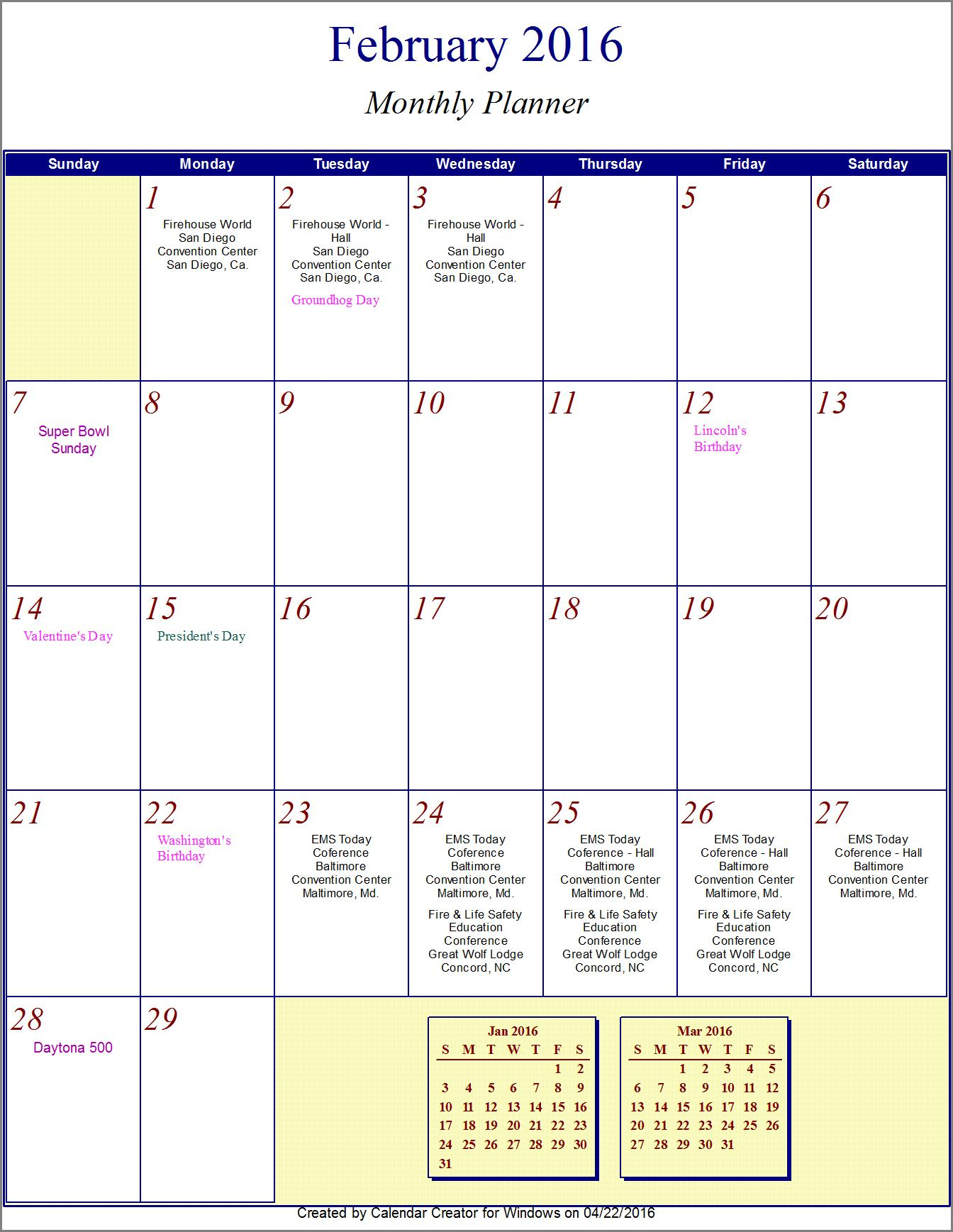 October 2017 Calendar for Excel, PDF and Word